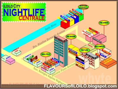 Iloilo City Gastronomic Maps FLAVOURS OF ILOILO - Iloilo city map