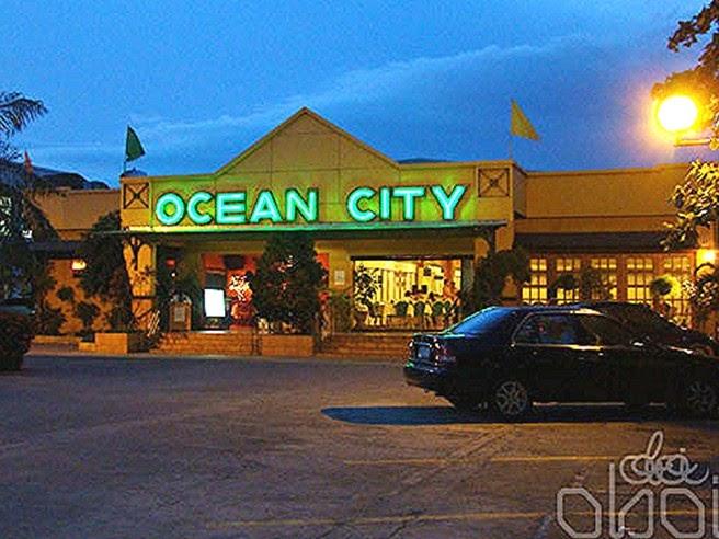 Ocean City Iloilo Food Menu