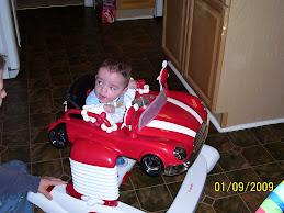 Braden's new car