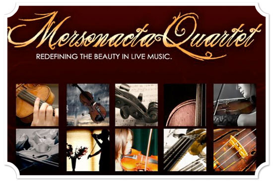 Sacramento String Quartet Mersonact Audition Wedding Musicians
