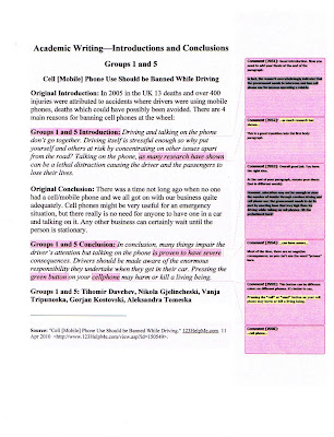academic desk academic writing the persuasive essay  groups 1 and 5