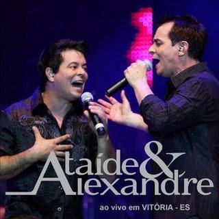 Baixar CD Capa Ataide e Alexandre   Ao vivo em Vitoria (2009)