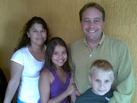 Luís Henrique, Silvana e filhos