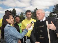 Pr. Bruno Raso é entrevistado