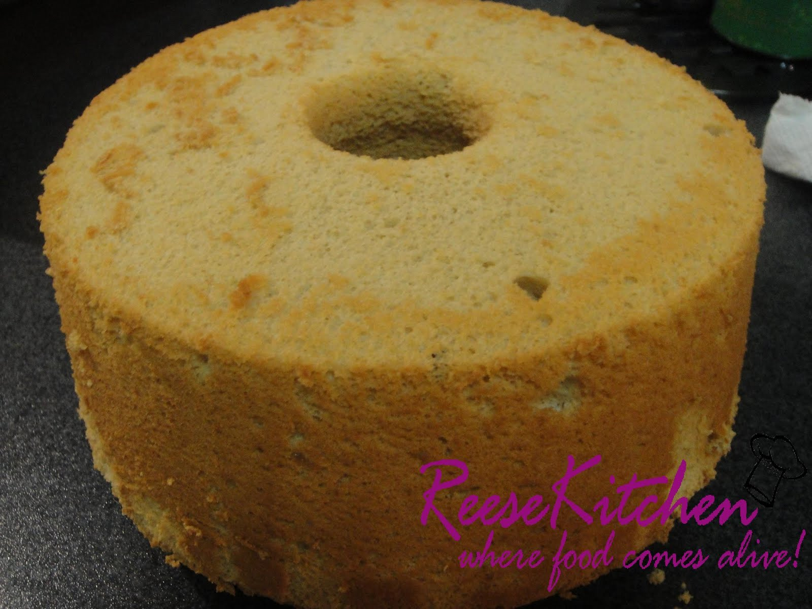 Pineapple Chiffon Cake Filipino