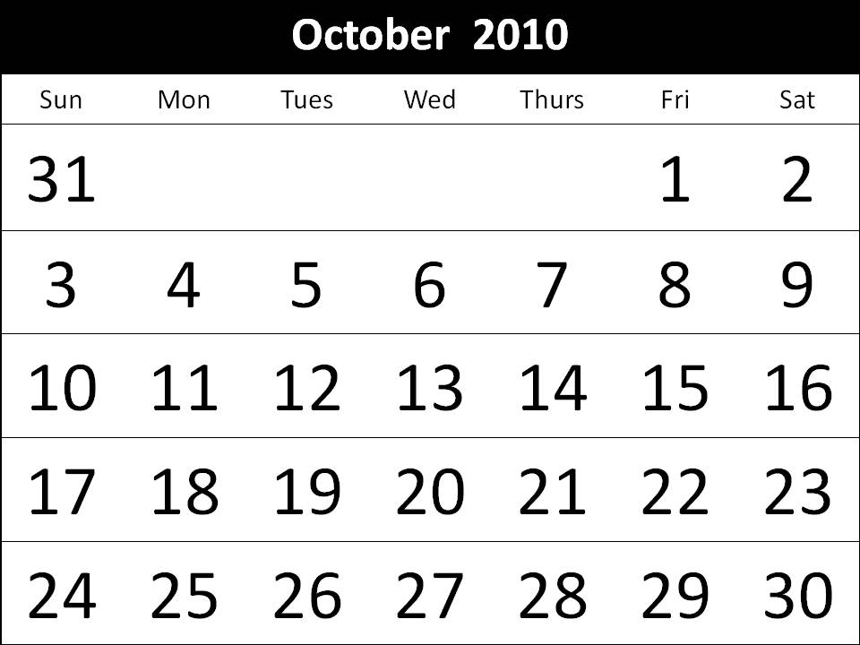 october 2010 calendar printable. 2010 columns july-august 7 day