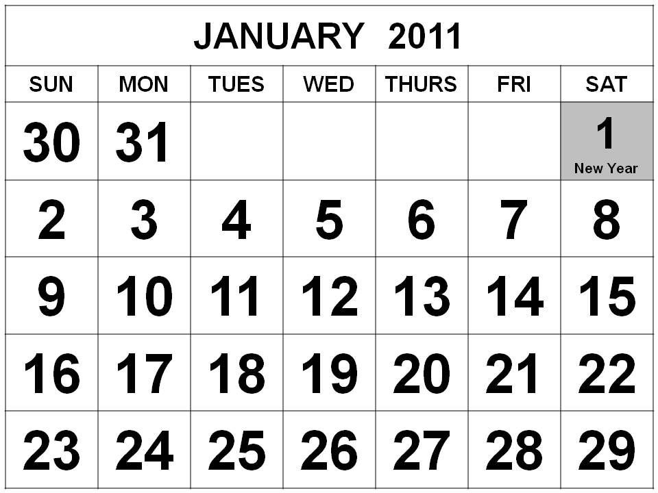 january 2011 calendar with holidays. 2011 Calendar Holidays. 3 Jan.