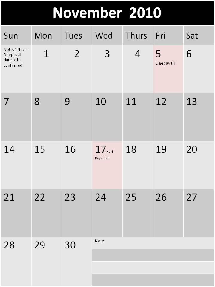 blank calendar 2010. printable lank calendar 2010.