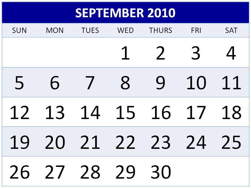 calendar template 2010. hair Yearly Calendar Template
