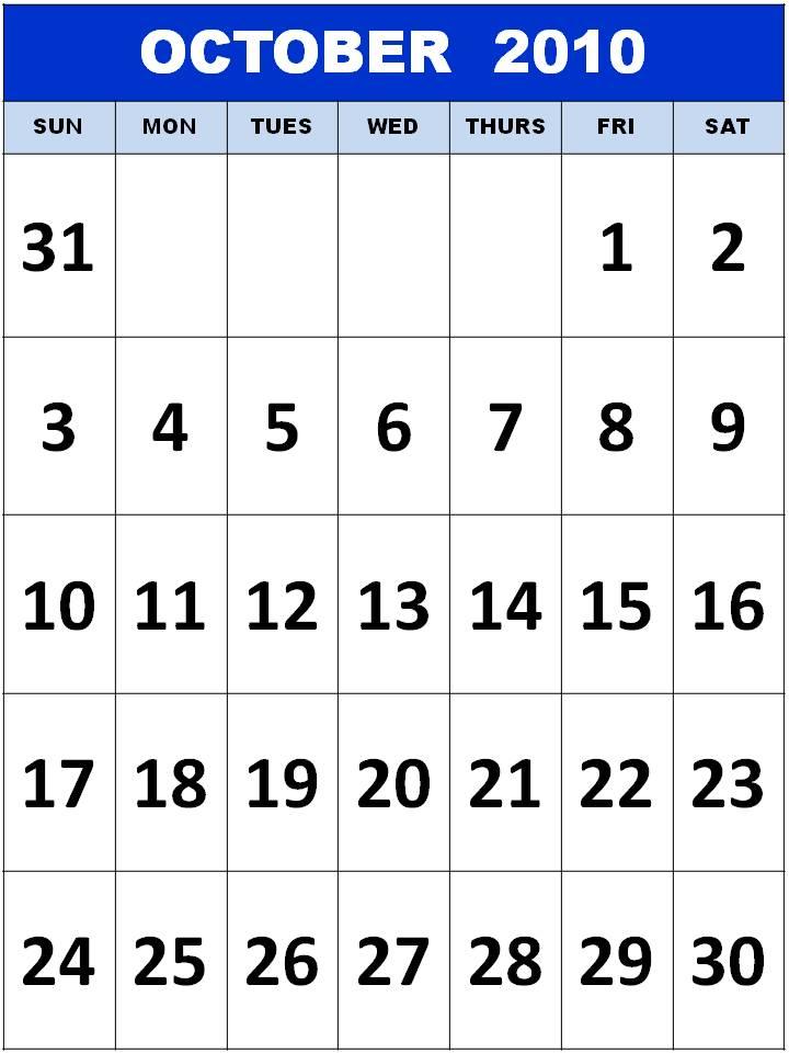 october 2010 calendar printable. +2010+calendar+printable