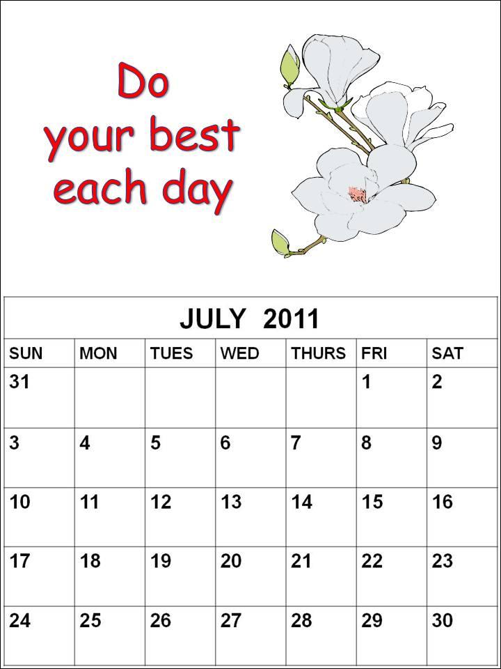 Blank Calendar Cartoon : Cute printable july calendar search results