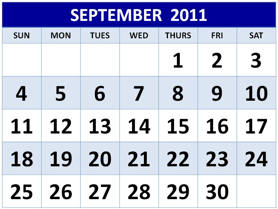 2011 calendar printable-Monthly Calendars 2011 printable templates