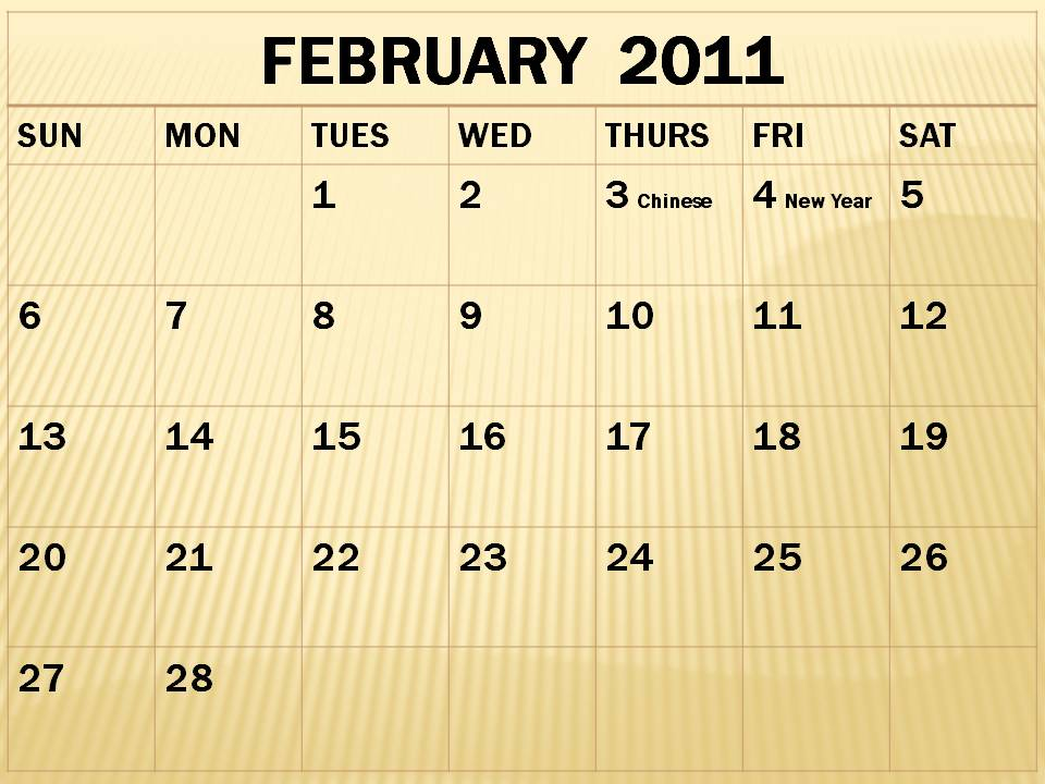 monthly calendar 2011 february. 2011+calendar+february+and