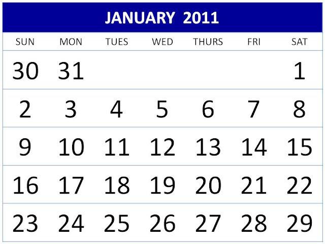 calendar 2011 template free. January+2011+calendar+