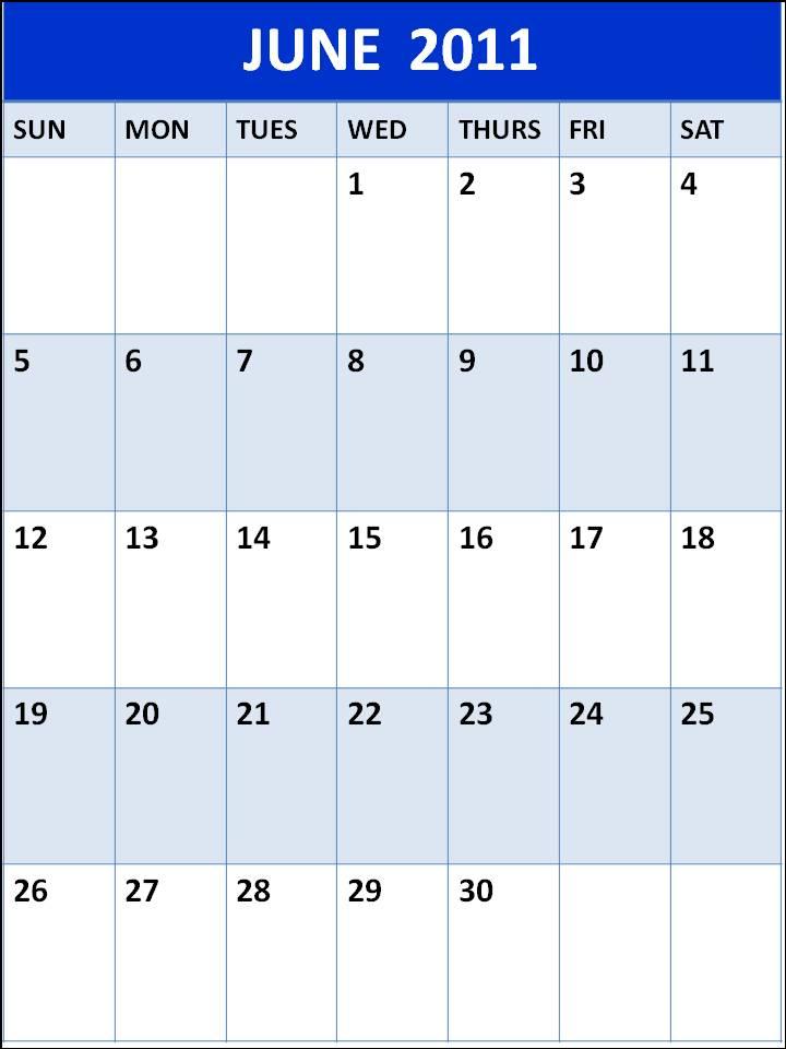 june 2011 calendar template. hair june calendar clip art.