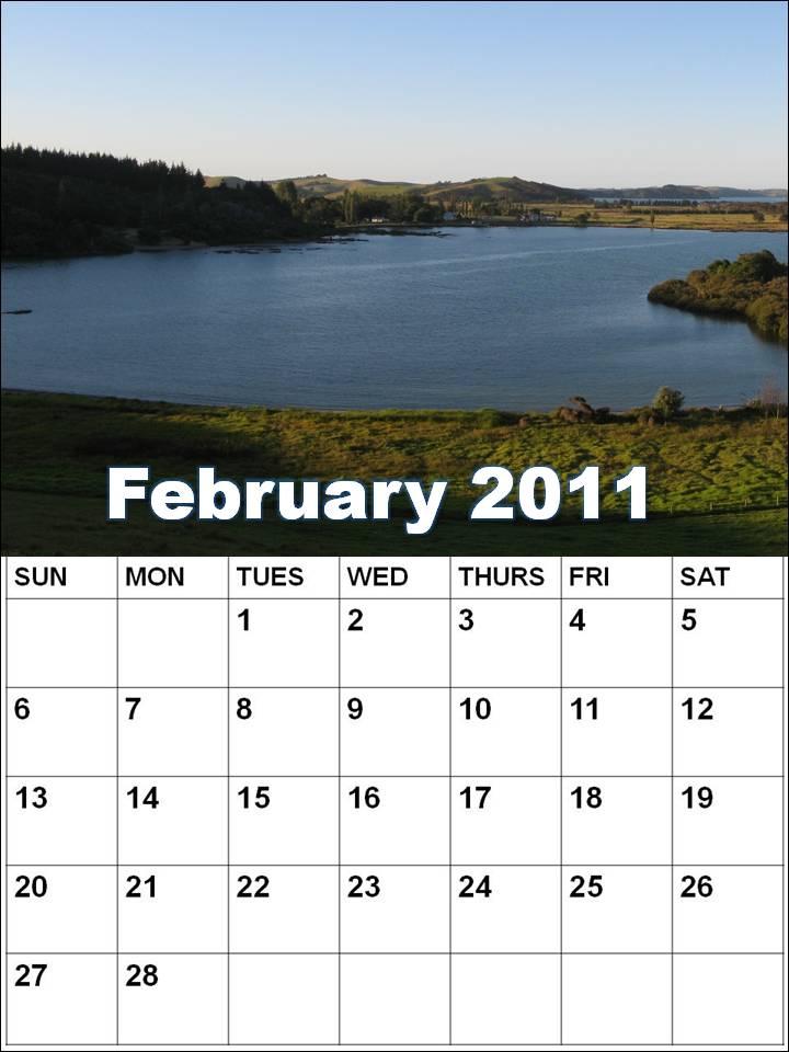 monthly calendar 2011 february. +calendar+2011+february