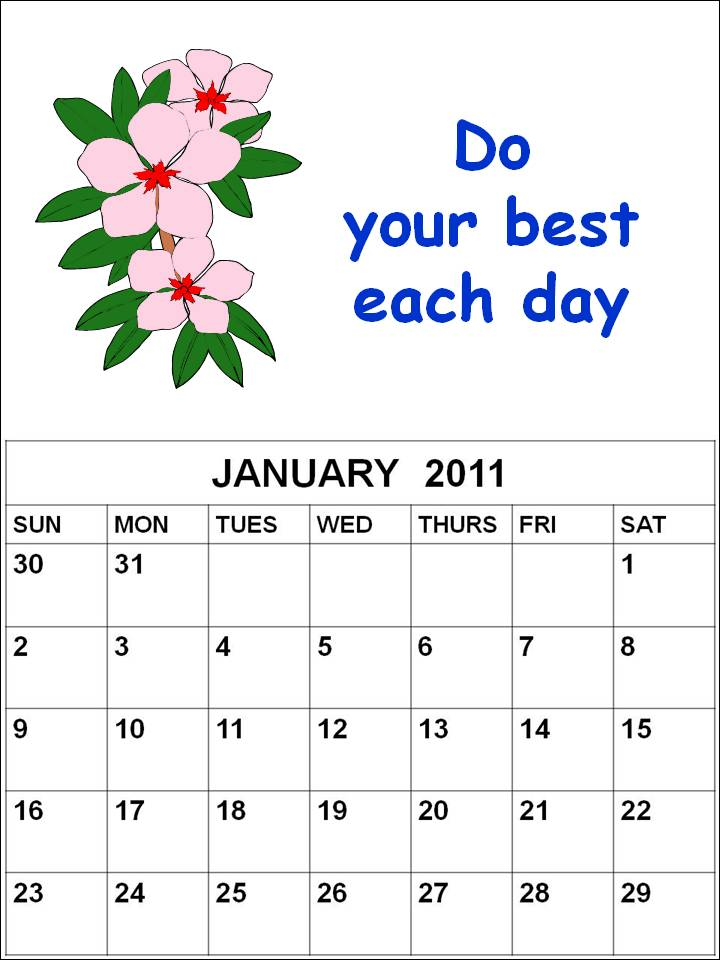 2011 calendar template with holidays. This 2011 Calendar Template is