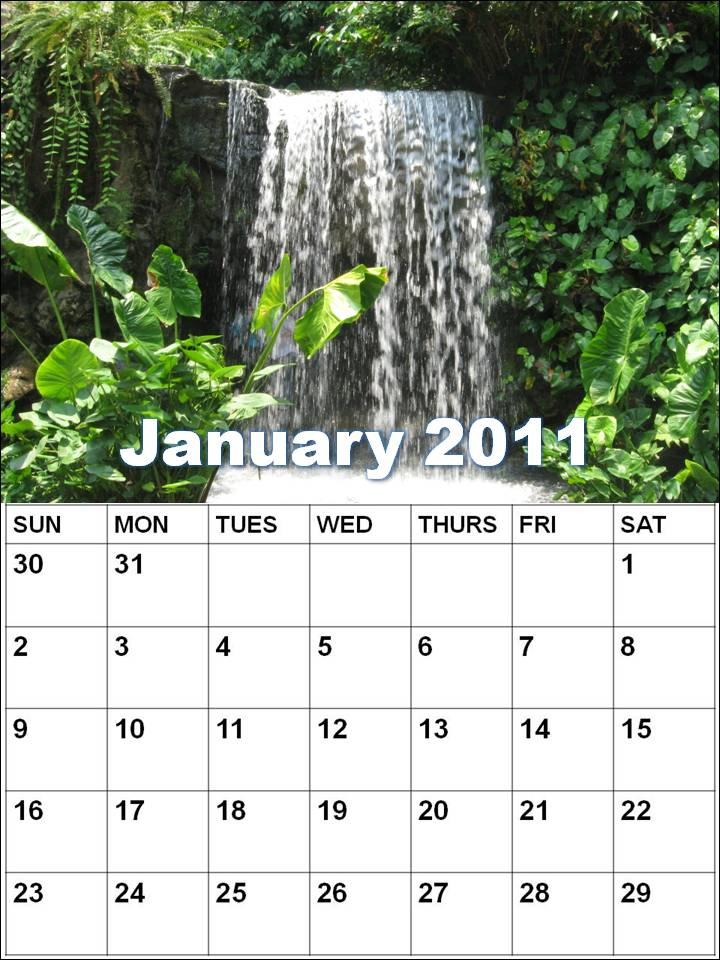 Wall calendar andto download