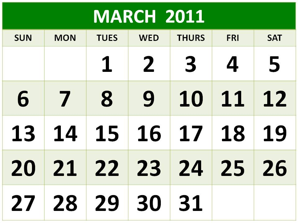2011 calendar with holidays wallpaper. site March+2011+calendar