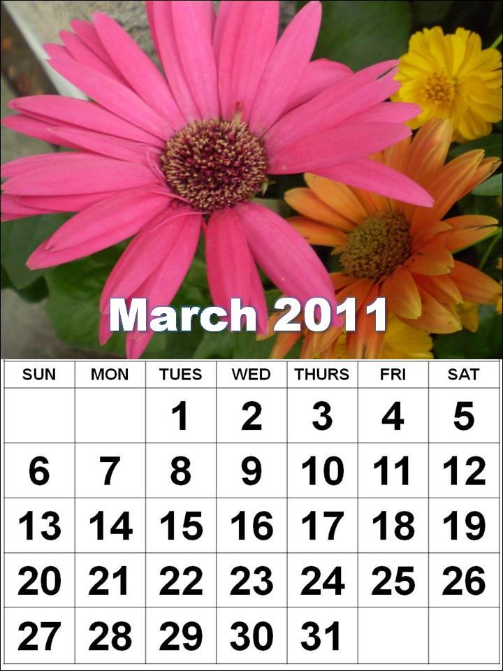 march calendar 2011 holidays. Calendar+2011+march+april+