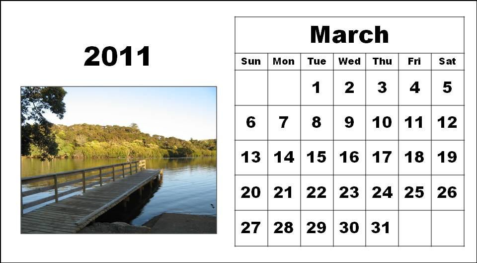 printable calendars for march 2011. february printable calendars