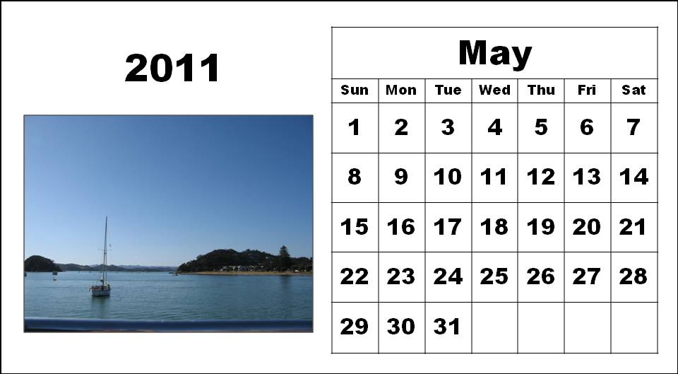 modelo curriculum06. may calendar 2011 template.