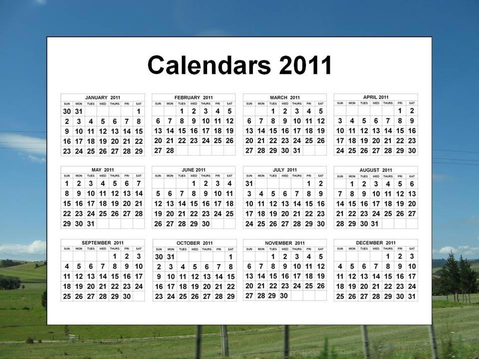2011+calendar+printable+