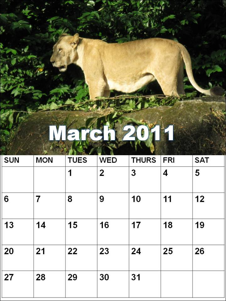 free printable calendars march 2011. march web calendars you
