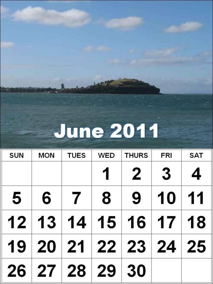 june 2011 calendar with holidays. June 2011 calendar of holidays