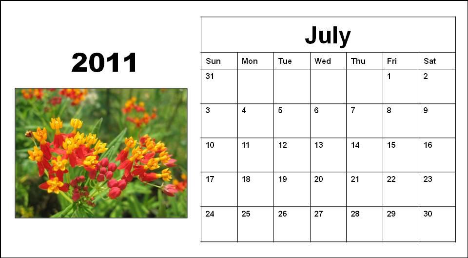 calendar 2013 printable. printable july calendar 2011.