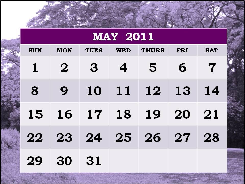 may calendar 2011 printable. may 2011 printable calendar.
