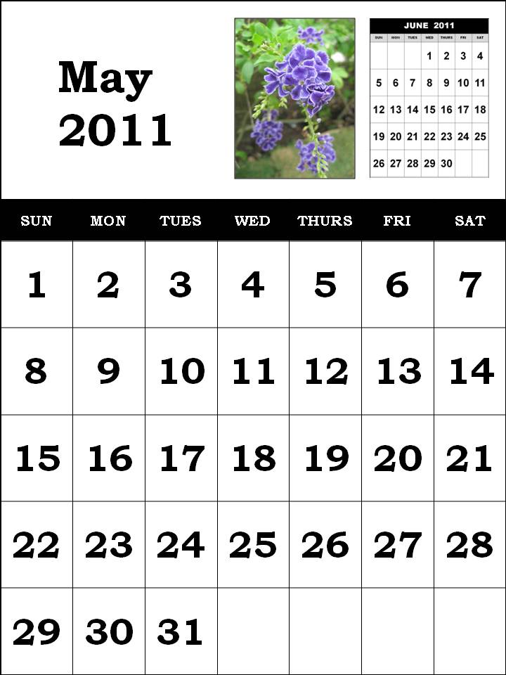 may 2011 calendar wallpaper. 2011 calendar wallpaper for