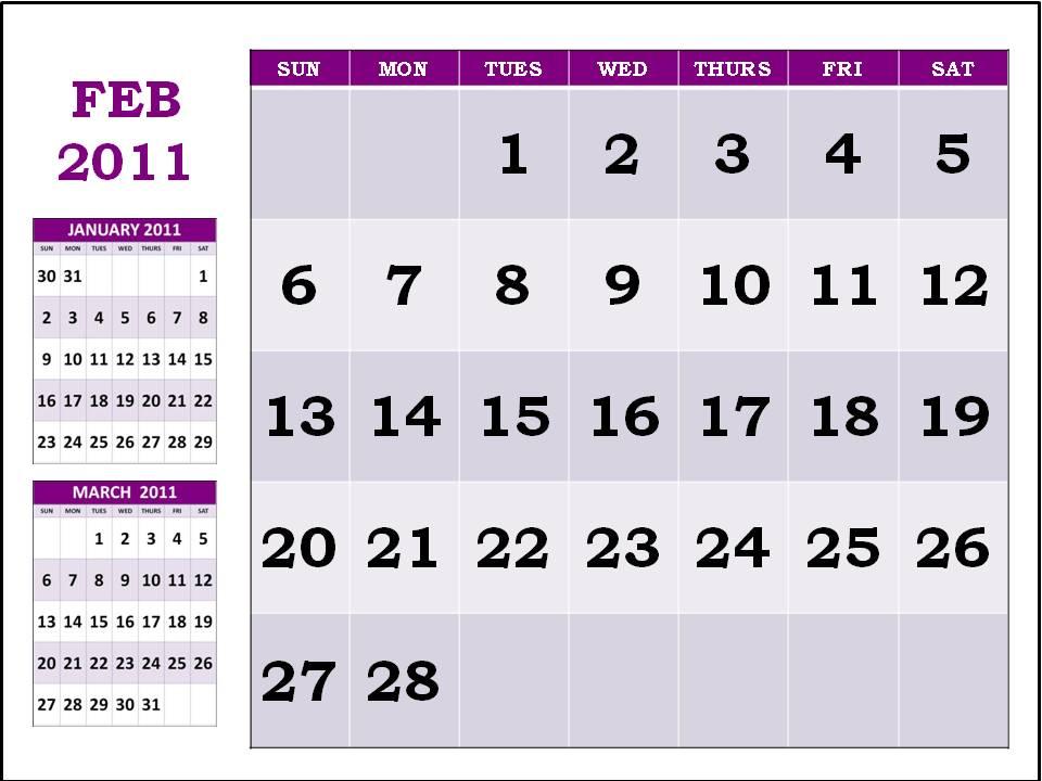 February 2011 Calendar Pdf. 2011 calendar template in