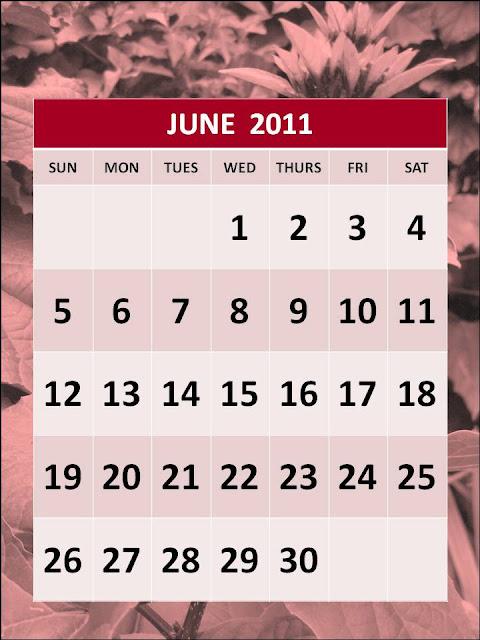 june 2011 calendar template. Free Printable June 2011