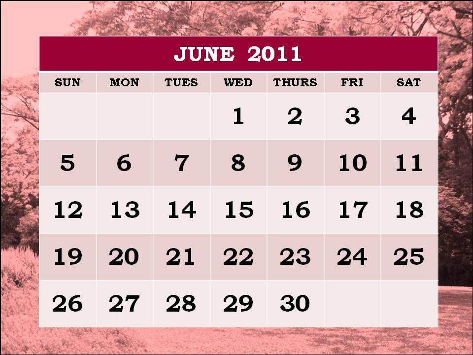 june 2011 calendar template. 2011 calendar template. june