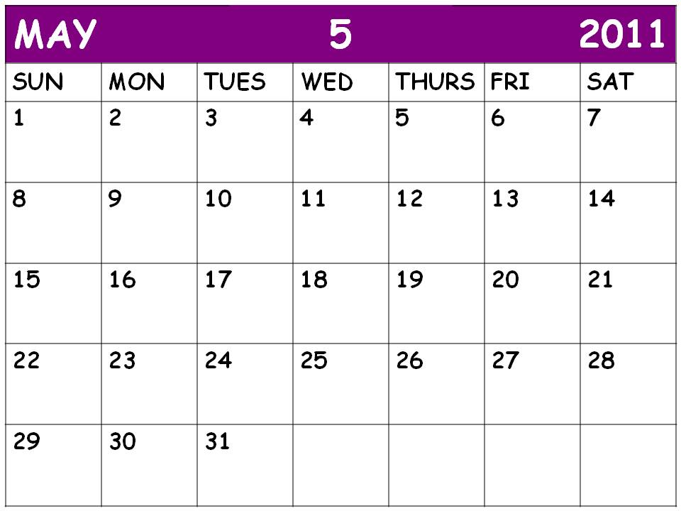 blank 2011 calendar may. Blank+calendar+2011+may