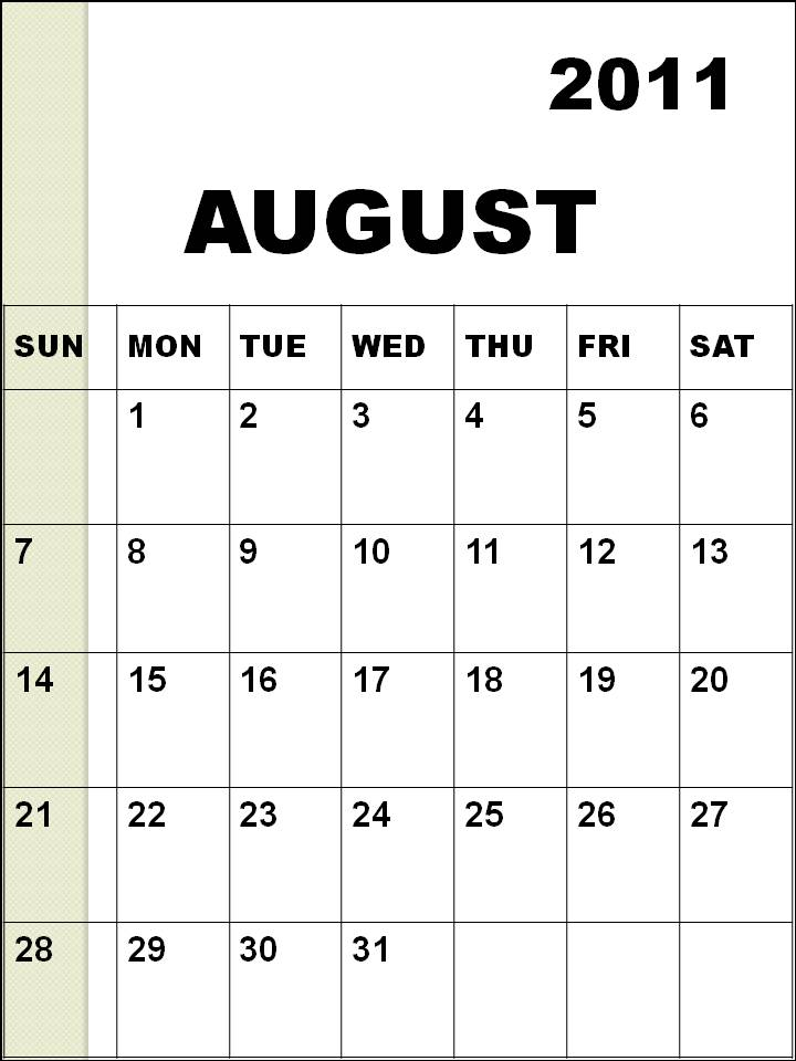 blank calendar 2011 australia. Blank Calendar 2011