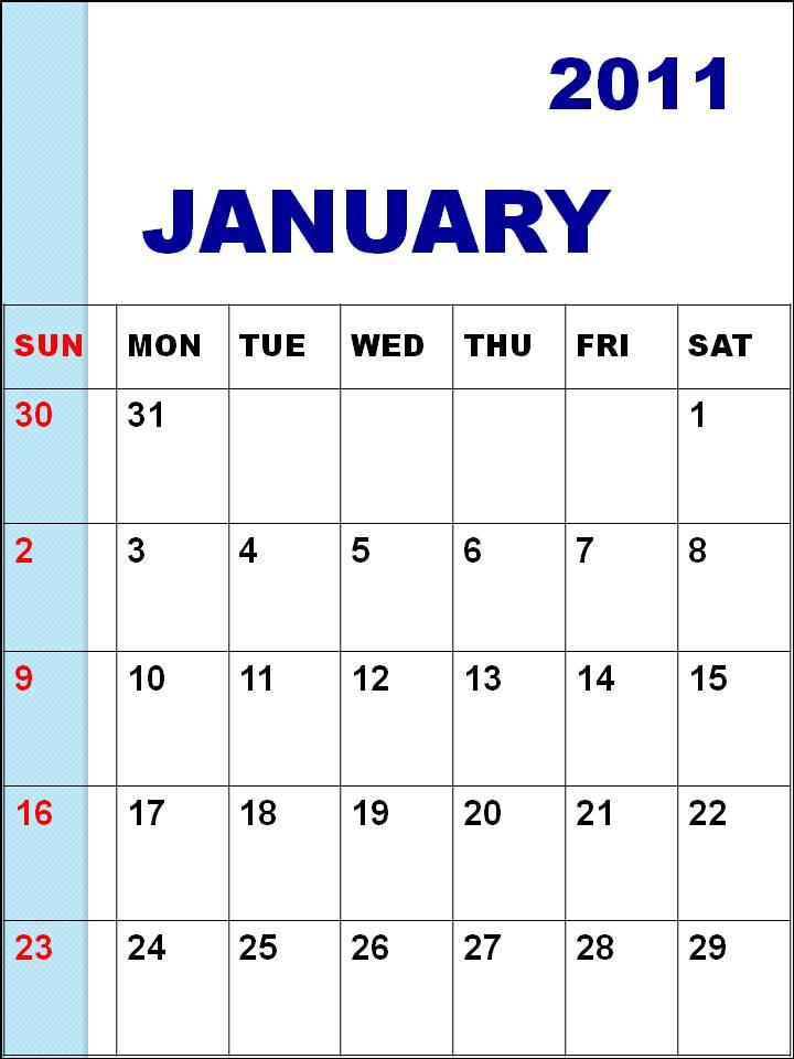 january 2011 calendar wallpaper. january 2011 calendar
