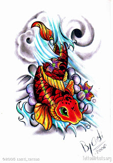 Tatto Carpas on Pez Koi  Dragon Koi  Leyenda Y Tattoo   Magnolia Objetos Ocultos