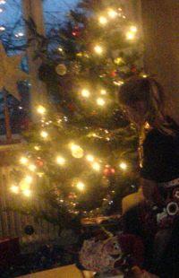 hemma hos svägerskan på juldagen