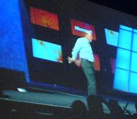 Steve Ballmer in action