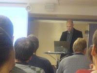 Vår duktige lärare/föreläsare Lars Svensby från ConsignIT