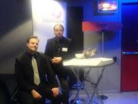 Fredrik & Martin pustar ut efter pausen