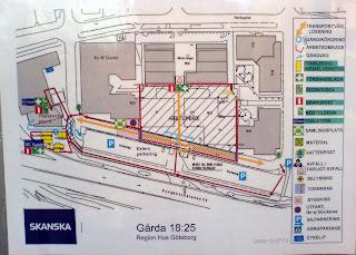 hur planerna ser ut för Gårda Företagscenter...