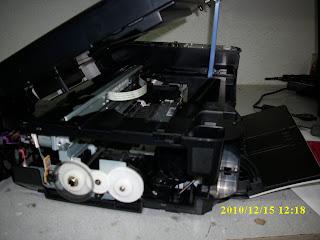 Solucion Error 30 o E03 en impresora MP250 Canon