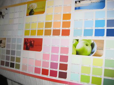 Living Room Paint Colours on Nippon Paint Colour Guide