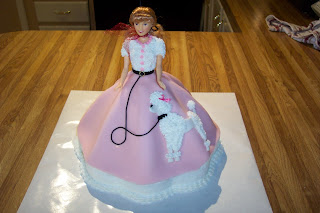 Cakes By Chris: Character Cakes - Poodle Skirt