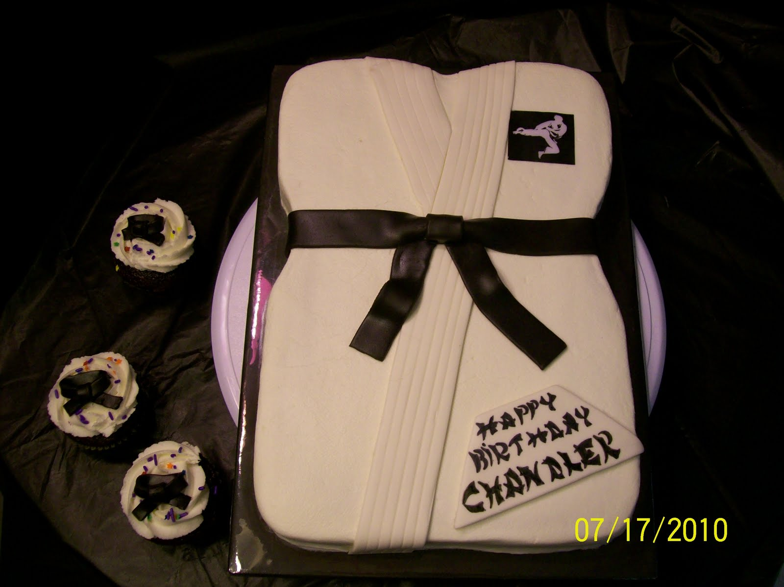 Cakes By Chris: Karate Birthday Cake