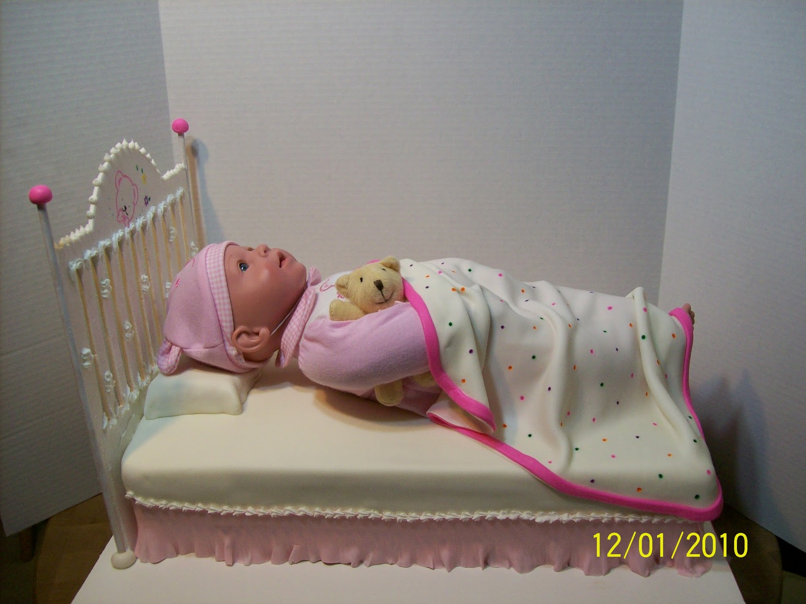 Doll Cake Images With Name : Cakes By Chris: Baby Doll Cake