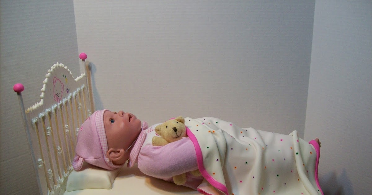 Doll Cake Designs For Baby Girl : Cakes By Chris: Baby Doll Cake
